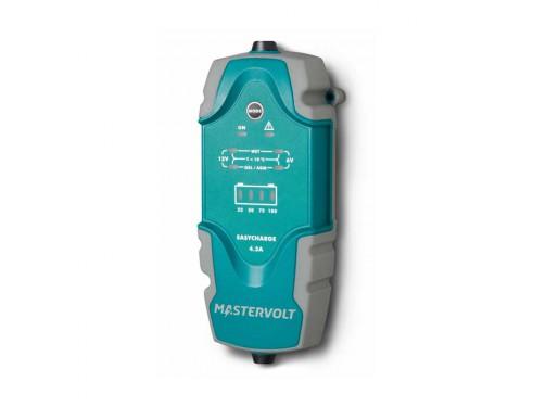 43510400 Cargador de baterías portátil EasyCharge Portable 4.3A. Ofrece una solución muy robusta que puede usarse en cualquier vehículo: en el barco, coche, motocicleta, autocaravana, etc.