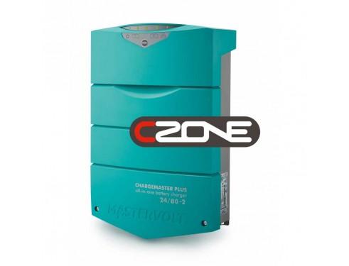 44320805 - Cargador de baterías ChargeMaster Plus 24/80-2 - Compatible Masterbus y Czone