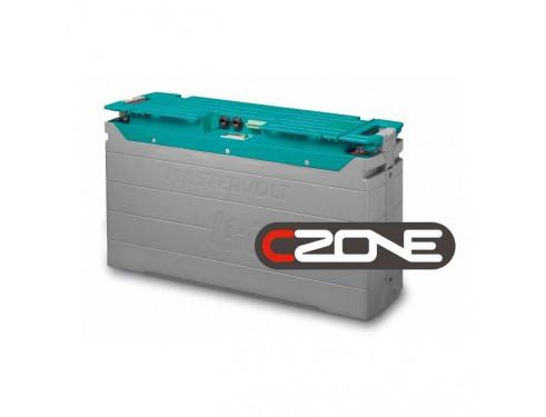 66015500 Batería de Ion-Litio 12V 5500Wh. Sus principales características son, la ligereza de sus componentes, su elevada capacidad energética y resistencia a la descarga, junto con el poco efecto memoria que sufren.