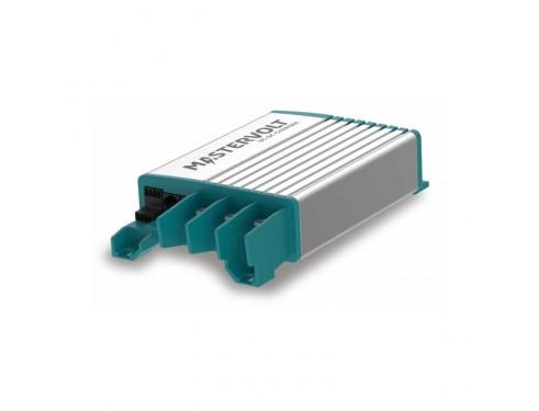 81205100 Estabilizador de corriente Mac Plus 12/12-50. Los dispositivos Mac Plus supervisa el estado de la batería de servicio y compensa la pérdida de tensión. El algoritmo demostrado de 3 etapas garantiza una carga rápida y segura.