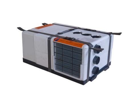 ABHD2400 Belaire 2400D, aire acondicionado. Acondicionador de aire para techo ideal para cualquier caravana o autocaravana, desde un pequeño remolque hasta las autocaravanas más completas. Se trata de un sistema ligero y completo
