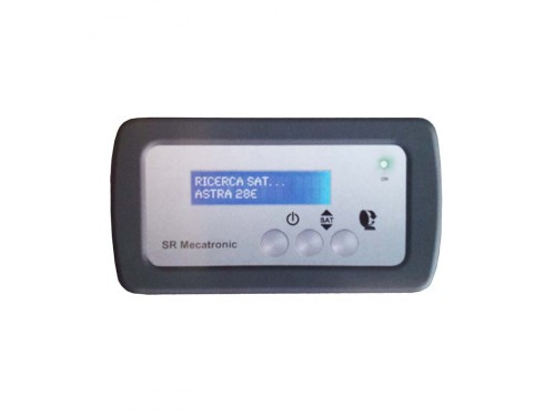 Display LCD de control de satélites, 15 posiciones