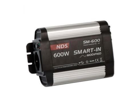 SM600-24 Convertidor Smart-in 230V/50-60Hz 24/600, onda modificada.