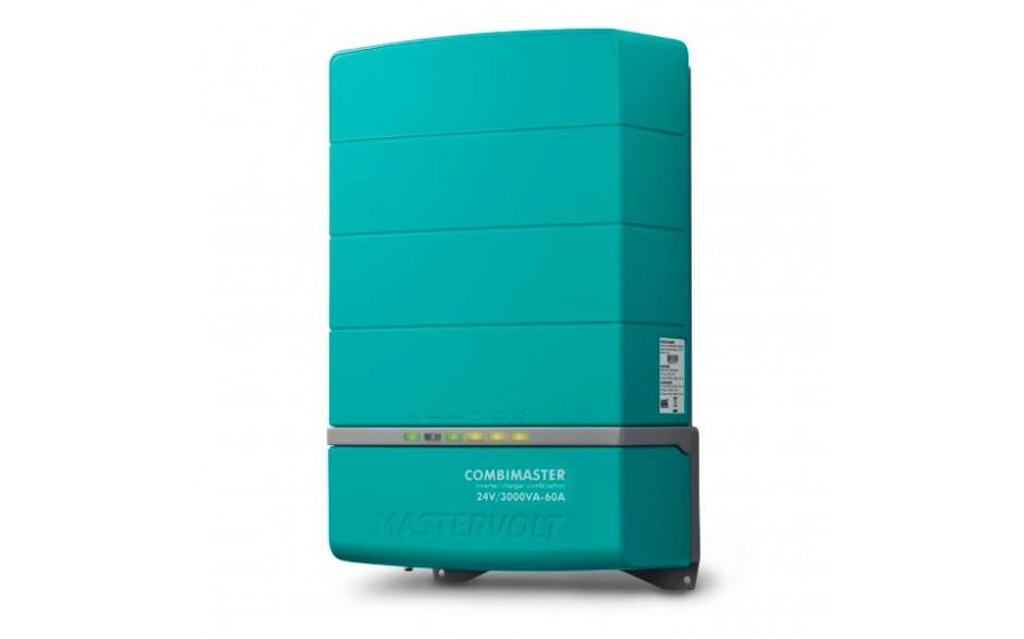 35023000 CombiMaster 24/3000-60 (230 V) - El inversor/cargador CombiMaster proporciona una potencia de inversión de onda senoidal pura y una carga de batería multiquímica, además, su diseño inteligente se comunica perfectamente con las redes NMEA 2000, CZ