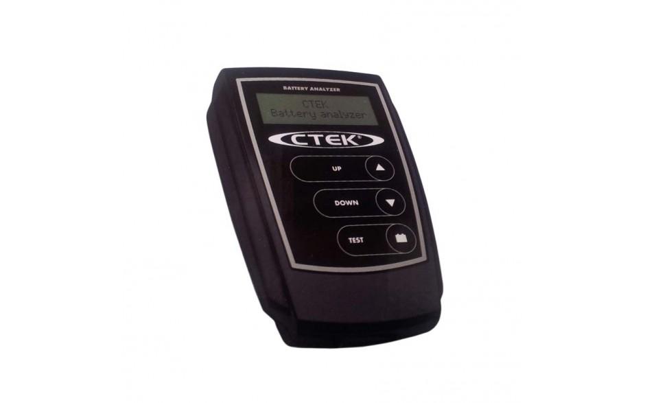 56-924 Analizador de baterías de 12V. Fácil de usar y presenta rápidamente resultados muy fáciles de entender.