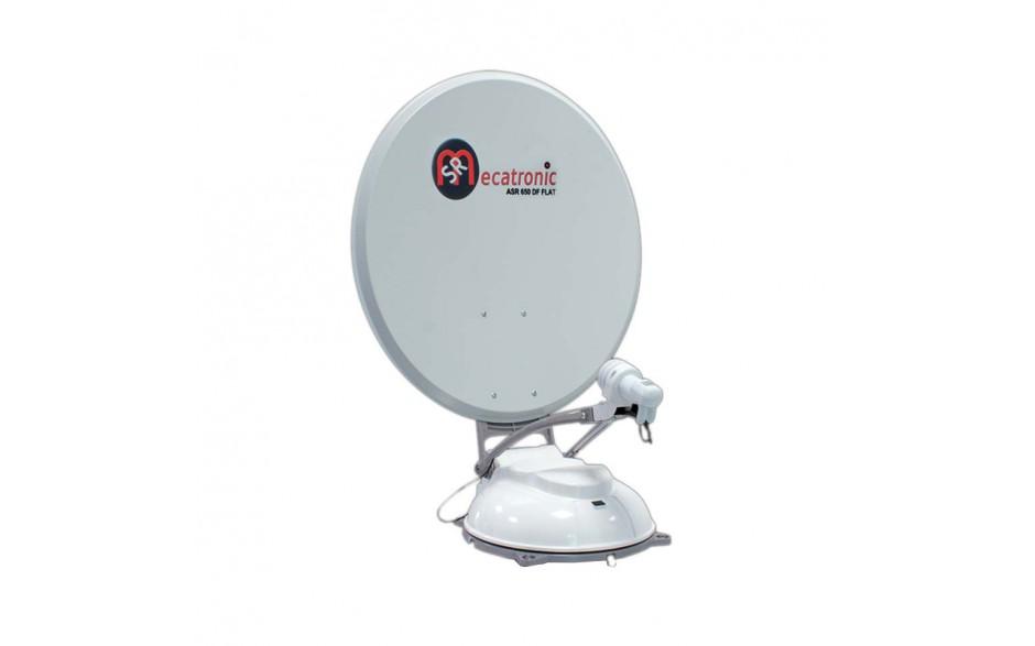 ASR650F2P Antena TV satélite ASR 650 FLAT 2P. gran rendimiento, capaz de realizar la corrección de la inclinación de forma sencilla y práctica, sin el uso de herramientas. De hecho, una rueda graduada permite la rotación del LNB según las necesidades. Aca