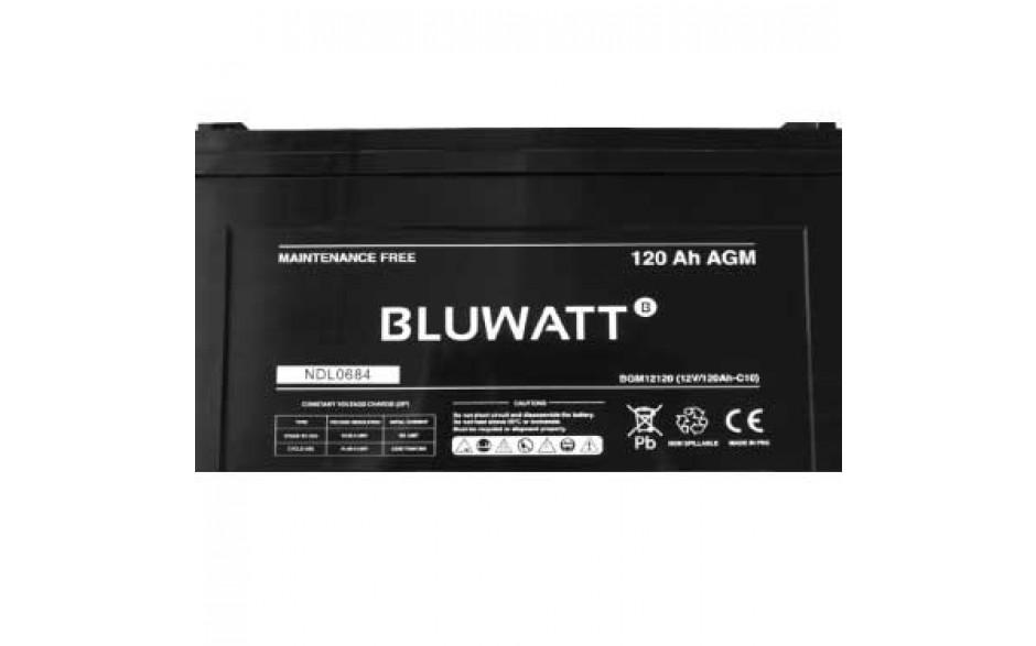Batería AGM 12V 120Ah, 405x173x227mm