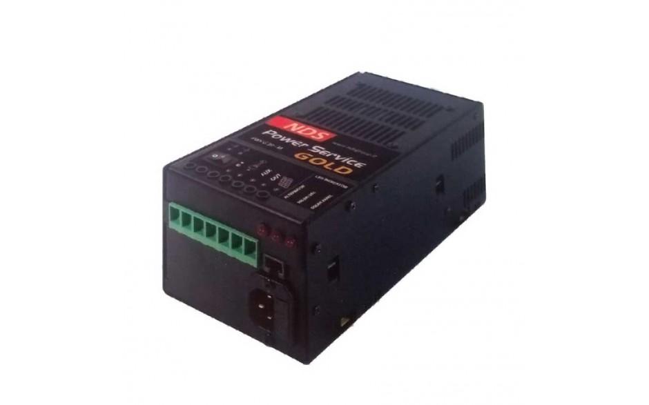 GOLD 25M Cargador de baterías Gold 25-M, 5 fases, 12V/25A. Capaz de recibir entrada desde 3 fuentes distintas de alimentación: Alternador del motor, Panel solar o Red eléctrica 230V.