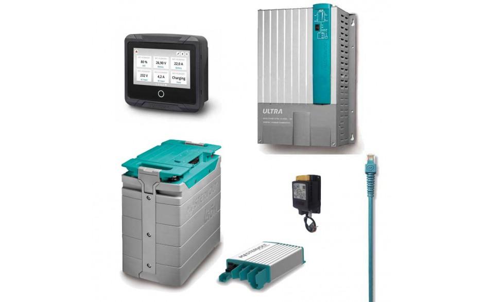 PACK_LITIO_VIP Pack batería litio VIP para caravaning. Sistema basado en baterías litio, una solución de lujo para cualquier caravana.