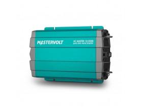 28012000 Convertidor de corriente continua a corriente alterna AC Master 12/2000, vista en perspectiva lateral de la parte frontal