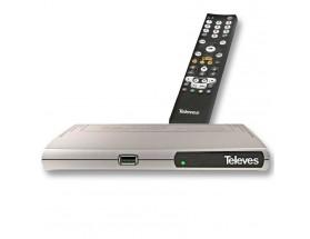 """Receptor TDT acceso TV bajo demanda """"ZAS Hbb"""""""