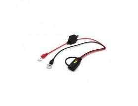 Conector indicador para batería con ojillo M6