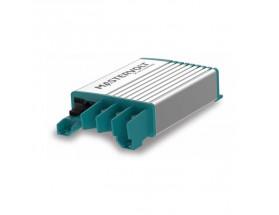 81205200 Estabilizador de corriente Mac Plus 24/12-50. Los dispositivos Mac Plus supervisa el estado de la batería de servicio y compensa la pérdida de tensión. El algoritmo demostrado de 3 etapas garantiza una carga rápida y segura.