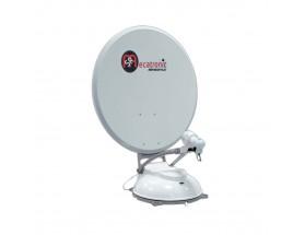 Antena TV satélite ASR 650 FLAT 2P, 65 cm, 2 satélites