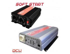 Inversor 24V/230V, 3000W, onda sinusoidal modificada, soft-start