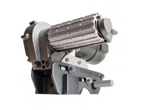 EGO400 Aparca-caravanas Ego-Mover Titanium.  Puede dirigir su caravana y situarla donde usted quiera. Puede hacer giros de 360º, funciona en la mayoría de superficies y en una amplia gama de condiciones. Vista del Aparca-caravanas