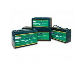 GP200 Batería AGM Green Power, 12V 200Ah. Batería de servicio de alto rendimiento, con tecnología AGM (fibra de vidrio absorbida) y diseñada para su uso en vehículos de servicio o de recreo.