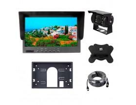 Kit de visión asistida con monitor, cámara y cable de conexión, 12/24V