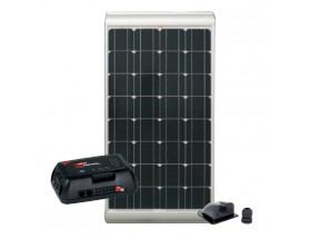 KP100S-SC-320 Kit panel solar SOLENERGY 100W con regulador y pasacables