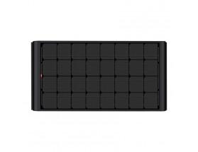 "KPB165WP2-320 - Kit panel solar rígido ""Black"" 165W, regulador y acces. (1495 x 680 x 60) | BlackSolar"