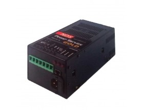 GOLD 40M/L Cargador de baterías de litio Gold 40-M/L, 5 fases, 12V/40A. capaz de recibir entrada desde 3 fuentes distintas de alimentación: Alternador del motor, Panel solar o Red eléctrica 230V.