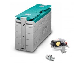 PACK_MLI12/2500 Pack Batería de Ión-Litio, 12V/180Ah - 2,5kWh. Las baterías Ultra de ión de litio contienen alta densidad energética y son perfectas para aplicaciones cíclicas.