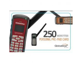 PERSONAL_250_V Bono electrónico pre-pago personal de Globalstar, 250 mins