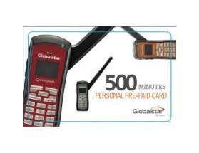 PERSONAL_500_V Bono electrónico pre-pago personal de Globalstar, 500 mins